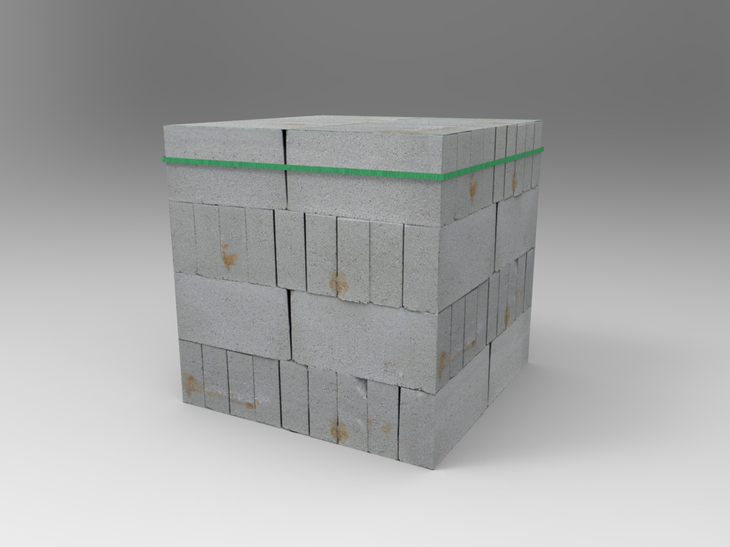 Concrete Blocks Pile 02