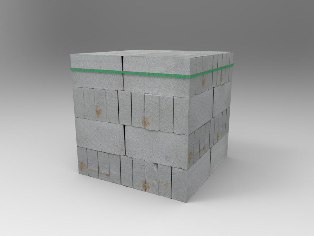 Concrete Blocks Pile 02