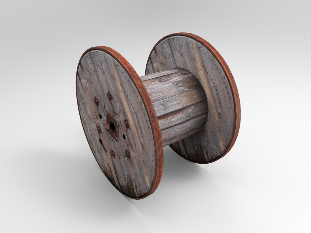Large Cable Spool 01