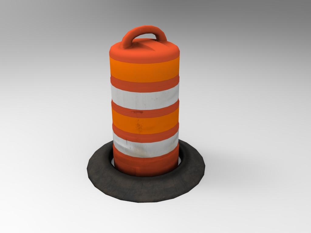 Highway Barrel 01